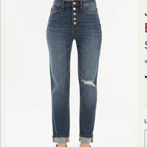 KanCan five button high waisted jeans NWT C5